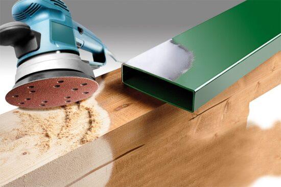 Velcro Sliberondel Korn 240 - Ø 150  mm værktøj