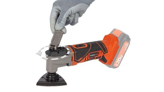 Multicutter med tilbehør UDEN batteri værktøj