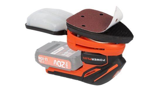 Slibemus med 10 stk. papir UDEN batteri værktøj