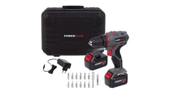 Bore og skruemaskine i kuffert 18 Volt værktøj