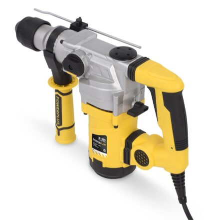 Borehammer 1600 W i kuffert med tilbehør værktøj