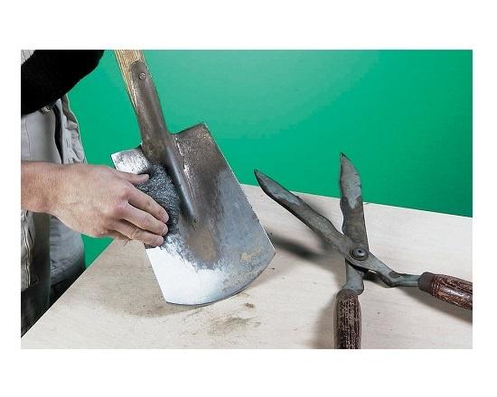 Ståluld i rustfri stål ekstra fin 000 værktøj