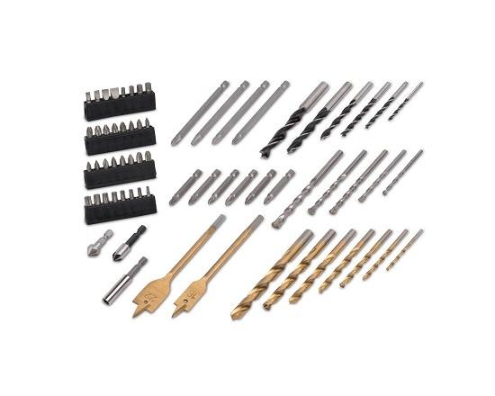 Bore og skruemaskine i kuffert 275 dele værktøj