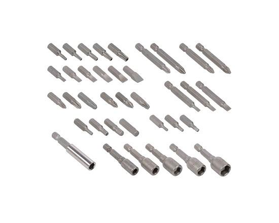 Knæk skruetrækker med 37 dele 3,6 Volt værktøj