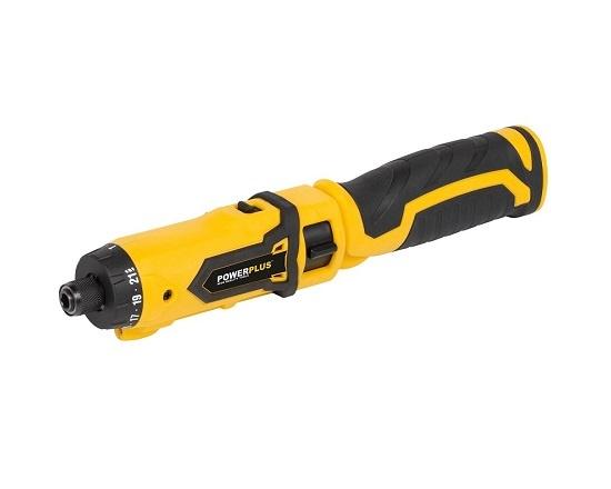 Knæk skruetrækker med 12 dele 7,2 Volt værktøj