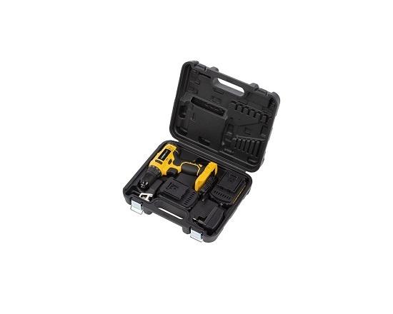 Bore og skruemaskine med 2 batterier 20V værktøj